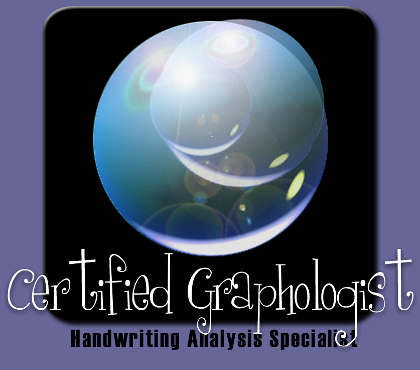 Certified Graphologist, Handwriting Analysis